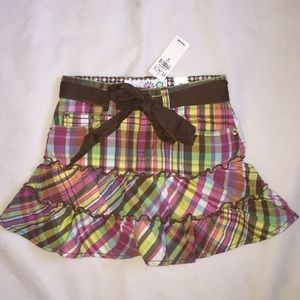 The children's Place multi colored skirt. NWT. 5